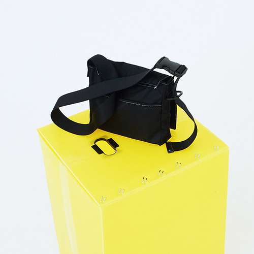 [5차 입고] three kinds square bag - black color