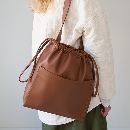 [2차 입고] ohou bucket bag (tan)