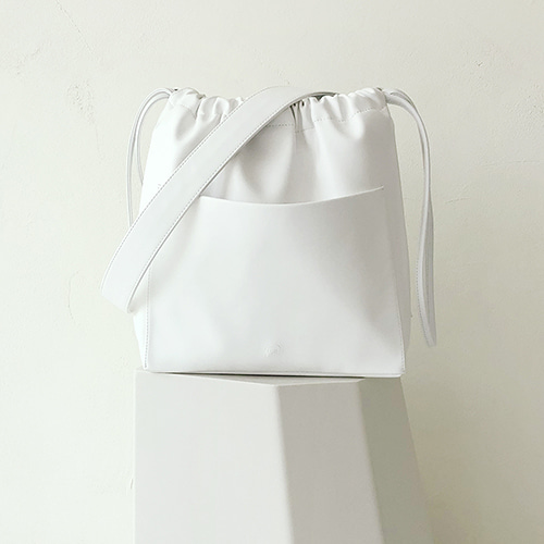 ohou bucket bag (white)