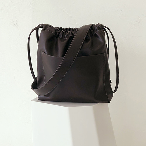 ohou bucket bag (chocolate)