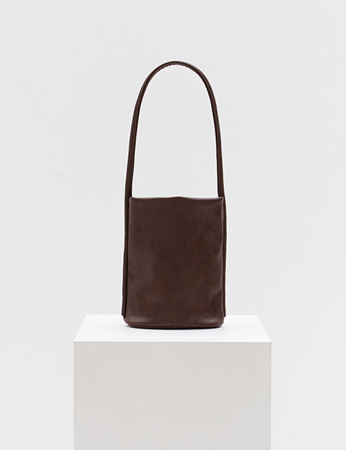[3차 입고] plain bag (choco brown)